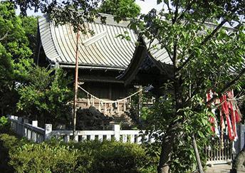 川岸・稲荷神社